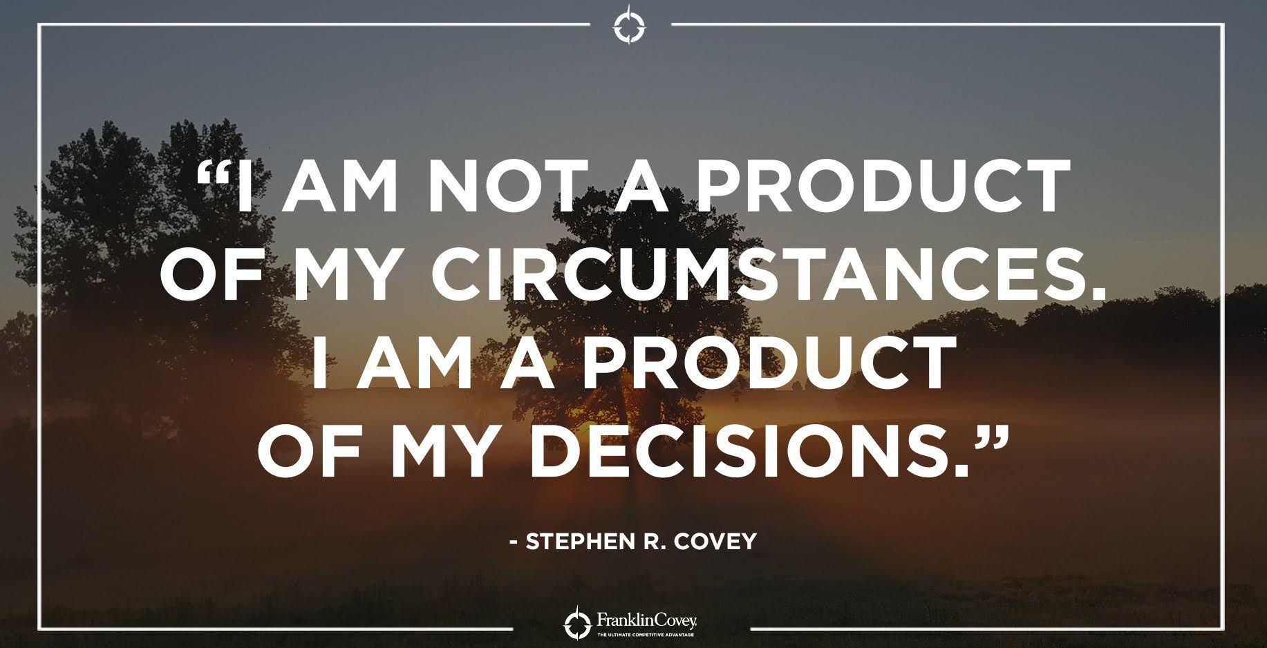 Source: Stephen R. Covey Twitter feed